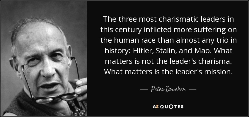 the gifts and dangers of charisma in leaders Charismatic leadership is basically the method of encouraging particular behaviors in others by way of eloquent communication, persuasion and force of personality charismatic leaders motivate followers to get things done or improve the way certain.