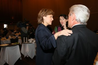 Ray with Former B.C. Premier Christy Clark